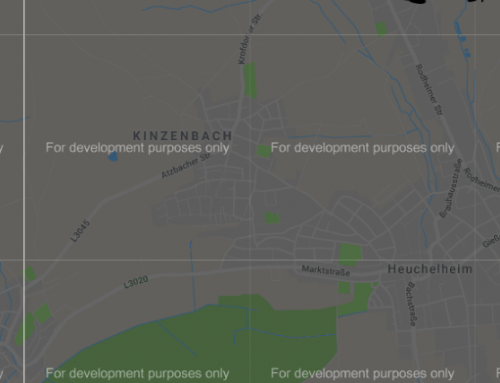 Många Google-kartor ser konstiga ut…