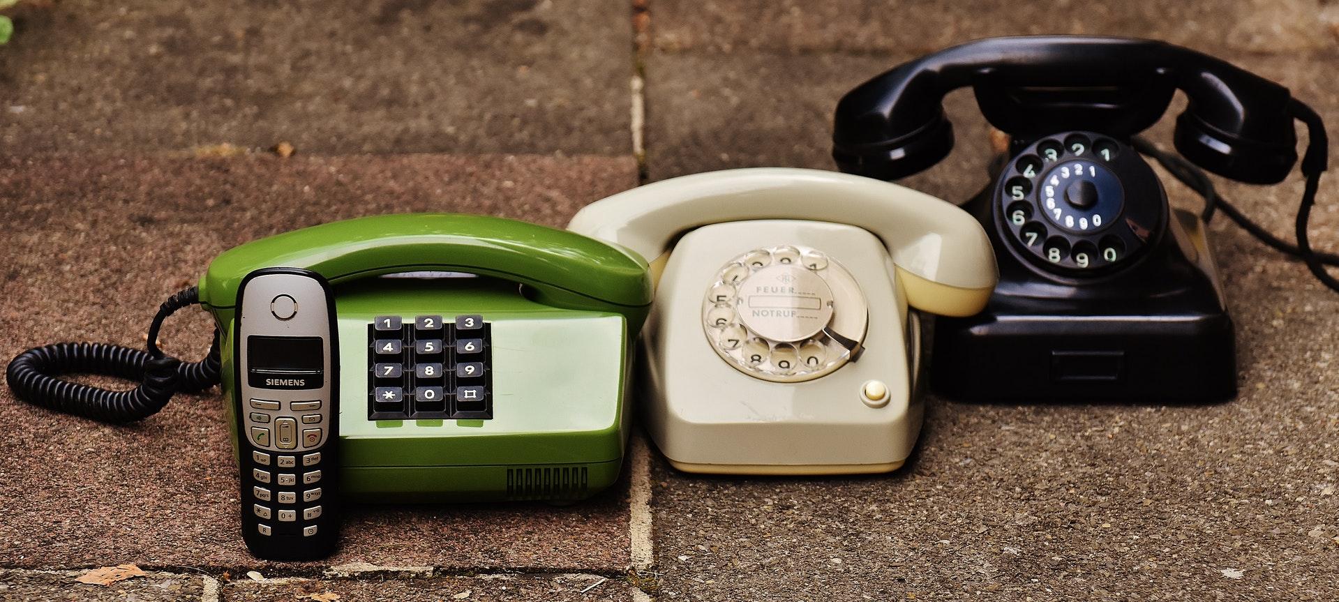 antika telefoner